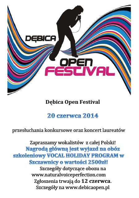 Dębica Open Festival 2014
